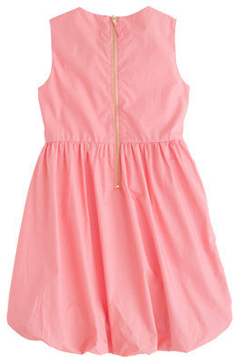 J.Crew Girls' petal poplin dress