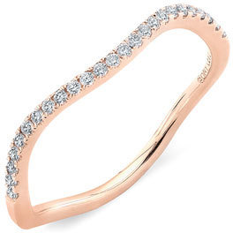 Women's Bony Levy Stackable Wavy Diamond Ring (Nordstrom Exclusive) $795 thestylecure.com