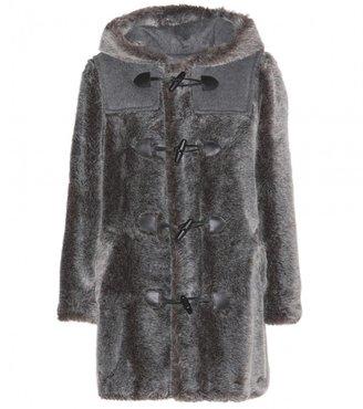 A.P.C. Panae faux fur duffle coat
