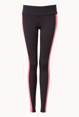 Forever 21 Colorblocked Active Yoga Legging