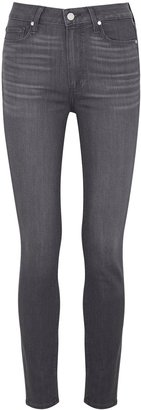 Paige Hoxton Ankle Grey Skinny Jeans