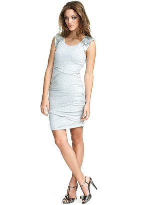 """Cynthia Steffe Bianca"""" Jersey Dress with Sequin Shoulder Detail"""