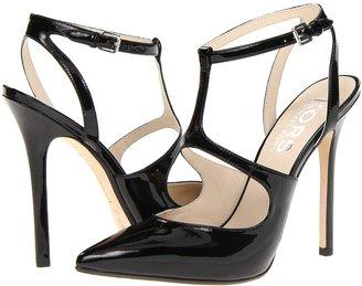 KORS Adrielle (Black Patent) - Footwear