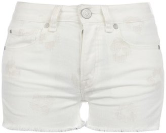Marc by Marc Jacobs patterned denim shorts