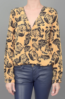 Winter Kate Rose Printed Blouse