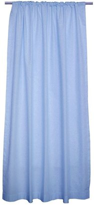 """Sleeping Partners blue solid curtains - 84"""" x 42"""""""