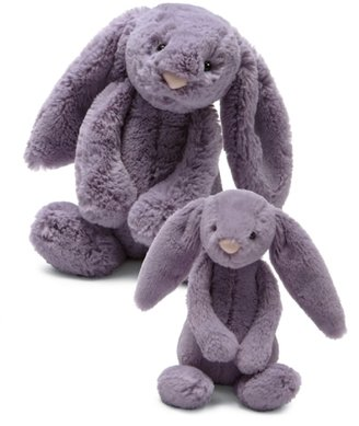 Jellycat Bashful Bunny Plush Toy - Plum