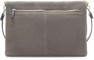 Zara Suede Two-Tone City Bag