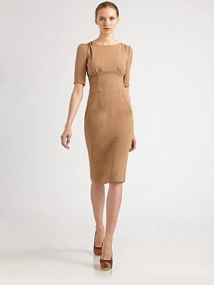 Dolce & Gabbana Three-Quarter Sleeve Dress