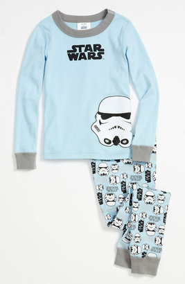 Hanna Andersson Two Piece Fitted Pajamas (Little Boys & Big Boys)
