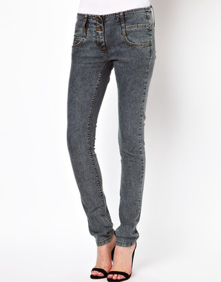 Asos Super Sexy Skinny Jean in Acid Wash