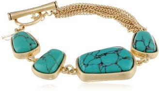Kenneth Cole New York Synthetic Turquoise Bead Bracelet