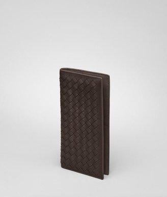 Bottega Veneta Ebano intrecciato vn continental wallet
