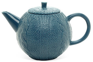 Sweater Teapot, Blue