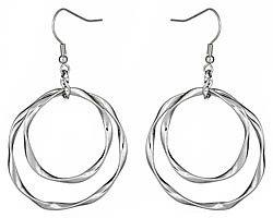 Blu Bijoux Double Twist Earrings