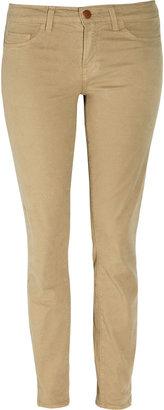 J Brand Denim 811 mid-rise twill skinny jeans