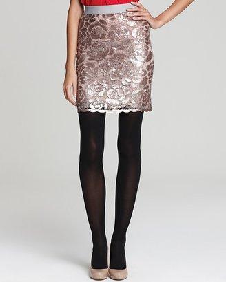 BCBGMAXAZRIA Pencil Skirt - Sequin Embellishments