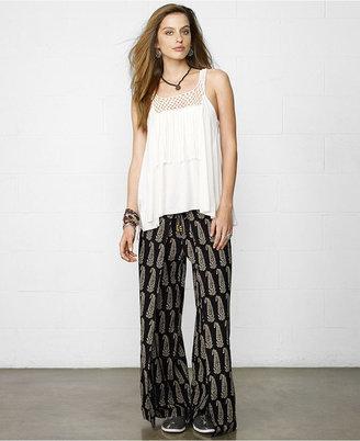 Denim & Supply Ralph Lauren Sleeveless Illusion A-Line Top