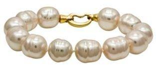 Majorica 14mm White Baroque Pearl Bracelet