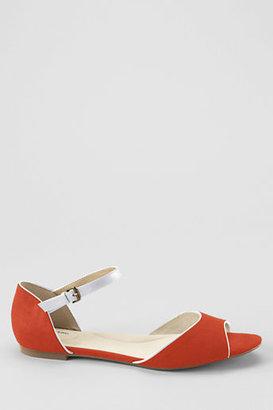 Lands' End Women's Valerie Flat Two-piece Sandals