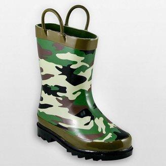 Western Chief camouflage rain boots - boys