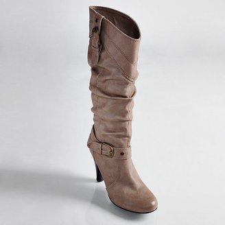 Journee Collection orem midcalf boots - women