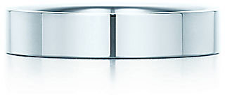 Tiffany & Co. Flat[br]Wedding Band Ring