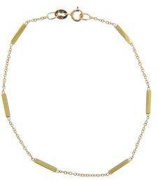 Jennifer Meyer Yellow Gold Bar Bracelet