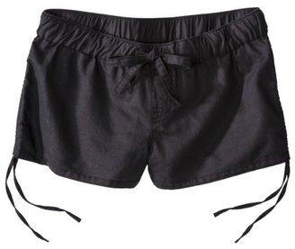Mossimo Juniors Drawstring Linen Shorts - Assorted Colors