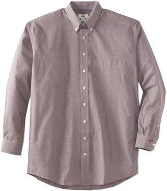 Cutter & Buck Men's Big-Tall Long Sleeve Epic Easy Care Gingham Shirt