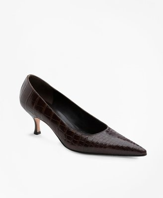 Brooks Brothers Alligator Pumps