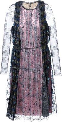 Lanvin floral lace gown