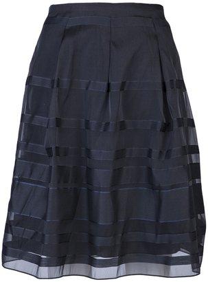 Jil Sander Navy Volume skirt