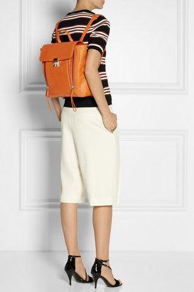 3.1 Phillip Lim The Pashli shark-effect leather backpack