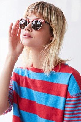 Skylar Half-Frame Sunglasses $14 thestylecure.com