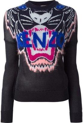 Kenzo 'Tigers Head' jumper