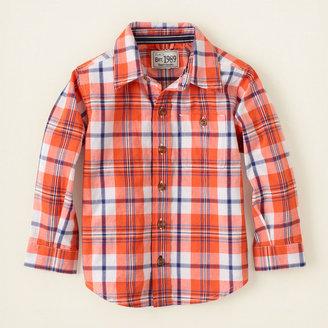 Children's Place Plaid shirt