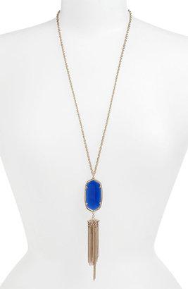 Kendra Scott 'Rayne' Stone Tassel Pendant Necklace