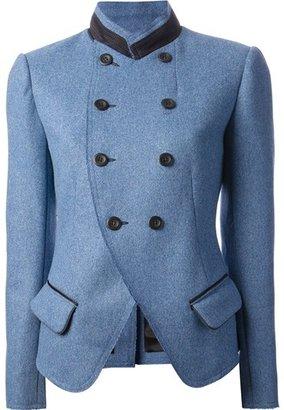 Vanessa Bruno Double Breast Jacket Cobalt