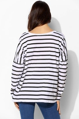 Truly Madly Deeply No Merci Stripe Tee