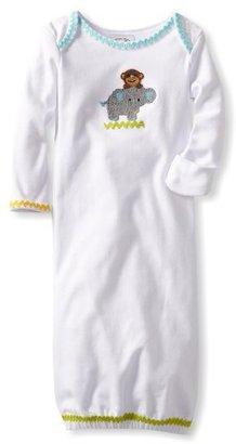 Mud Pie Unisex-Baby Newborn Safari Layette Sleep Gown