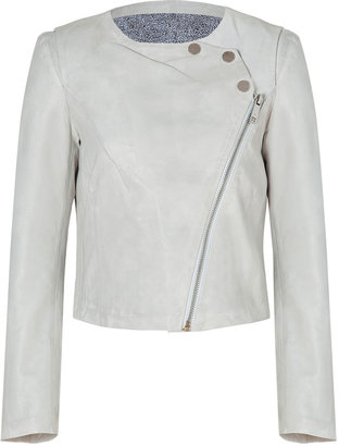 Twenty8Twelve White Wash Lamb Leather Jacket