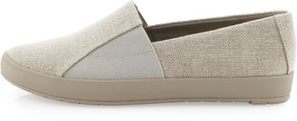 Eileen Fisher Chase Canvas Slip-On, Natural