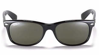 Ray-Ban New Wayfarer Polarized Sunglasses, 55mm