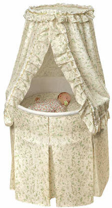 Badger Basket Empress Round Baby Bassinet I $159.99 thestylecure.com