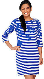 Liz Claiborne New York Regular Printed Stripe Knit Dress $32.57 thestylecure.com