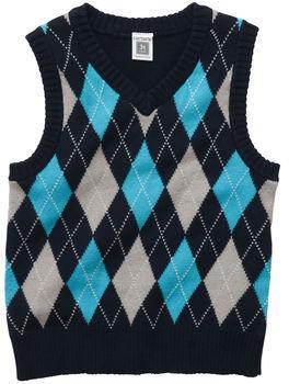 Carter's Argyle Sweater Vest