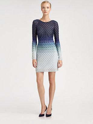 Missoni Ombré Lurex Knit Dress