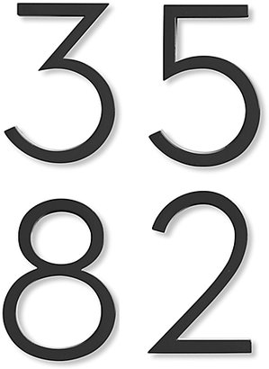 Design Within Reach Neutra Modern House Numbers in Black