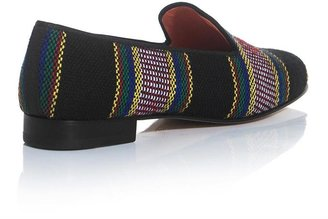 Penelope Chilvers Tequila fabric dandy slippers